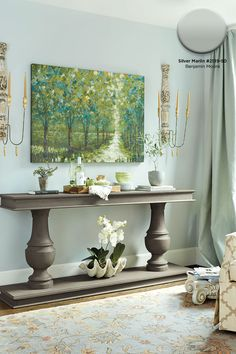 Benjamin Moore Whispering Spring 2136 70 Changes Colors All Day Long With Morning Light It S