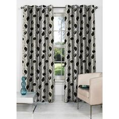 Fflaunt Star Grey And Olive Eyelet Curtain - Add oodles of style to your home with an exciting range of designer furniture, furnishings, decor items and kitchenware. We promise to deliver best quality products at best prices.