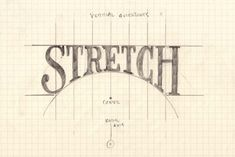 Improve your Lettering Compositions with Slants and Curves - Jake Rainis Lettering Guide, Hand Lettering Fonts, Creative Lettering, Lettering Tutorial, Brush Lettering, Lettering Design, Lettering Ideas, Types Of Lettering, Graffiti Lettering