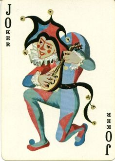 Joker Playing Card, Playing Cards Art, Joker Card, Vintage Playing Cards, Tarot, Surreal Art, Deck Of Cards, Note Cards, Card Games