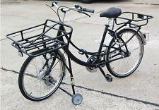 7 gang transportrad fahrrad lastenrad postfahrrad schwarz