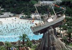 Disney World in the summer, we will stop by Typhoon Lagoon to cool off!