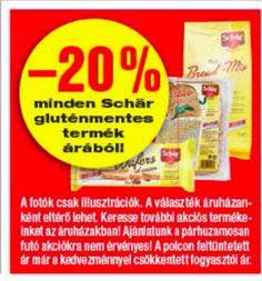 Gluténmentes termék akciók 2015 május második fele