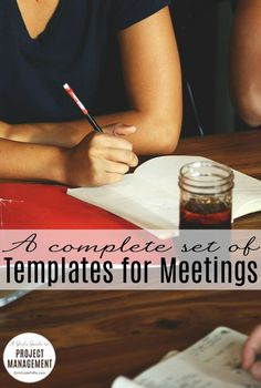 Get an agenda template, a template for minutes, checklists for your meetings, and a short ebook. Everything you need to make your meetings a success every time!