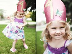 A birthday crown makes the day that much more special.