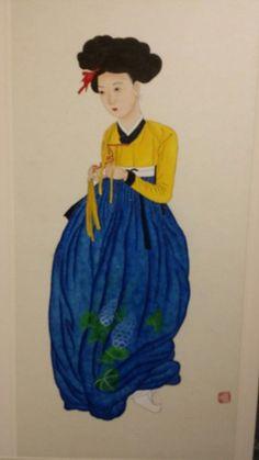 제6회 대한민국 전통채색화 공모대전 입상작과 특별 초대작가전 : 네이버 블로그 Snow White, Disney Characters, Fictional Characters, Folk, Disney Princess, Painting, Popular, Snow White Pictures, Painting Art