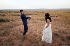 Wedding photography in open desert field, popping champagne photos Destination Weddings, Romantic Weddings, Real Weddings, Country Club Casual, Elizabeth New Jersey, Fall Wedding, Utah, Champagne, Wedding Photos