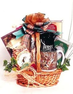 Hunting Gift Basket