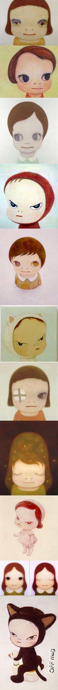 yoshitomo nara __________    http://offmag.blogspot.com.es/2012/02/yoshitomo-nara.html