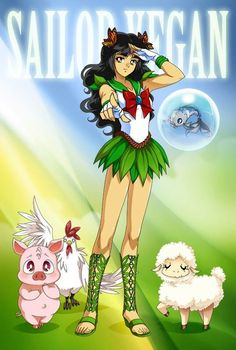 Sailor Vegan by Drachea Rannak