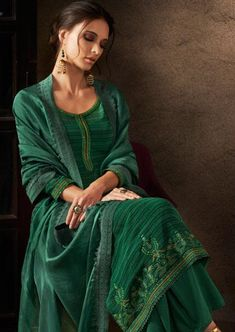 2fa28ad53e Ganga Antra Designer Georgette Salwar Suit D.No 6905. Indian Fashion · #Embroidery  suits
