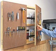 42 Clever Garage Organizations Ideas #woodworkingideas