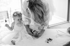Real Wedding at Babalou Kingscliff featured on Casuarina Weddings blog! #flowergirl #wedding
