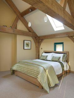 Border Oak - Master Bedroom with oak framing