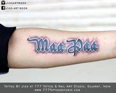 new 3D effect and dedication to parents... Tattoo & Design by Jîğš Tāttòóïšt at 777 Tattoo & Nail Art Studio, V.V.Nagar.  Share if you like this image.. follow my pages  https://www.instagram.com/jigsartbook/ https://www.facebook.com/Jigs-art-book-219422814821514/ #tattoo#tattoos #tat #ink #inked #tattooed #tattooist #coverup #art  #design #sleevetattoo #handtattoo #chesttattoo #bodyart  #amazingink #tattedup #inkedup #besttattooartist #3dmaatattoo #3dmaapaa #3d #3dmaa #3dtattoo