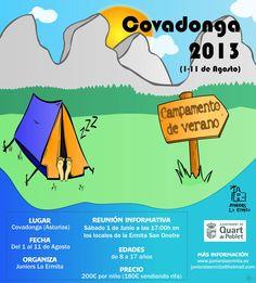 Campamento Covagonda 2013 http://quartjove.quartdepoblet.es/index.php/campamento-covagonda-2013/