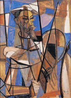 Don Quijote de la Mancha, 1947 by Joaquín Peinado