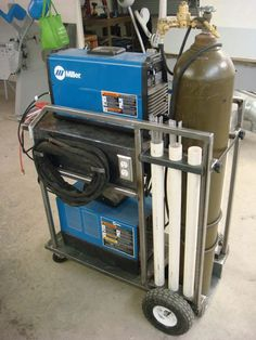 My new tig welding cart - Miller Welding Discussion Forums