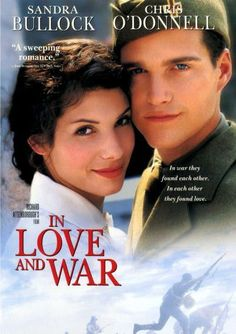 In Love and War, Sandra Bullock, Chris O'Donnell Romance 1999