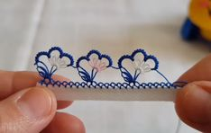 Needle Lace, Tatting, Projects To Try, Embroidery, Beauty, Bows, Slipcovers, Handarbeit, Cosmetology