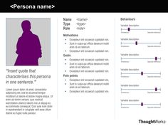 Sample Persona Template