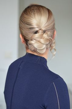 Braided updo tutorial  nude.costume.fi