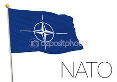 North atlantic treaty organization flag 2015 — Stock Vector © frizio #91818766