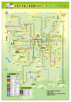 Tainan City Bus route