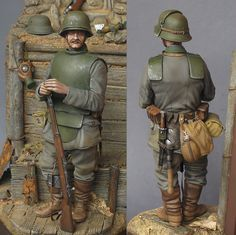 All Quiet at the Western Front. The Sentry | Figures | Gallery on Diorama.ru
