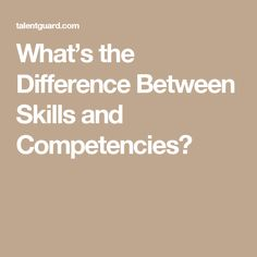 Be on top of the basics: essential skills and competencies