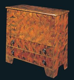 Chest Over Drawers   ...Artist unidentified, New England  1825–1840  Paint on pine  37 1/4 x 39 x 18 in.