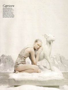 Vogue UK // Photographer: Tim Gutt // Model: Siri Tollerod // Stylist: Kate Phelan // Set Designer: Shona Heath