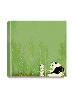 Antonia Press  Panda Canvas Print