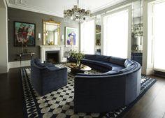 Magnificent in Pembridge Gardens, London. Design & photo by Peter Mikic
