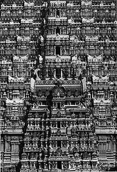 Hindu architecture from India From the 1969 book Living Architecture: India by Andreas. Temple Architecture, Ancient Architecture, Beautiful Architecture, Temple India, Hindu Temple, Indian Temple, Yoga India, India Images, Vintage India