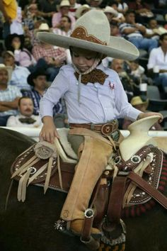 Charrito.  Mexican horseman in a small package.