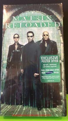 Matrix Reloaded New SEALED Sci Fi Movie | eBay