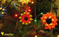 LEGO Christmas tree ornaments
