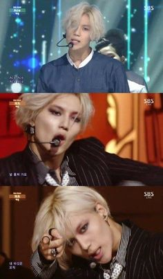 Taemin 'Ace' and 'Danger' 2014