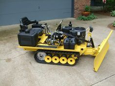 Hydracat custom built hydrostatic minidozer 2014