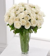 White Rose Bouquet ... $142