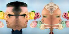 Paper Veil Cover Art #coverart #editorial #icecream #boygirl #colourful #paperveil #hermannnewman #maranewman #portrait #duo #photography #editorial #design #graphicdesign