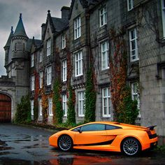 Lamborghini Gallardo Superleggera- Parking it anywhere makes art.