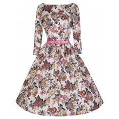 Holly Floral Swing Dress | Vintage Inspired Fashion - Lindy Bop
