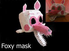 The original Foxy mask.