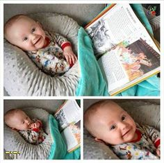Awww....he's happy to be learning about Jehovah!