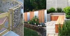 When it comes to backyard fence design ideas, don't succumb to the ordinary and fence yourself in. Check out our inspiring selection. Stone Backyard, Backyard Fences, Backyard Projects, Backyard Landscaping, Backyard Ideas, Garden Ideas, Yard Fencing, Walkway Ideas, Pergola Ideas