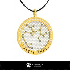 3D CAD Sagittarius Zodiac Constellation Pendant Cad Services, 3d Cad Models, Sagittarius Zodiac, Zodiac Constellations, Pendants, Stuff To Buy, Jewelry, Jewellery Making, Jewlery