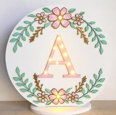 Baby Decor, Kids Decor, Lotus Flower Wallpaper, Video Backdrops, Wooden Name Signs, Baby Frame, Baby Mobile, Letter A Crafts, Friend Birthday Gifts