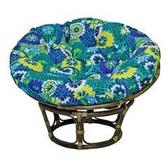 Bungalow Rose Benahid Papasan Chair Color: Marlow Spice